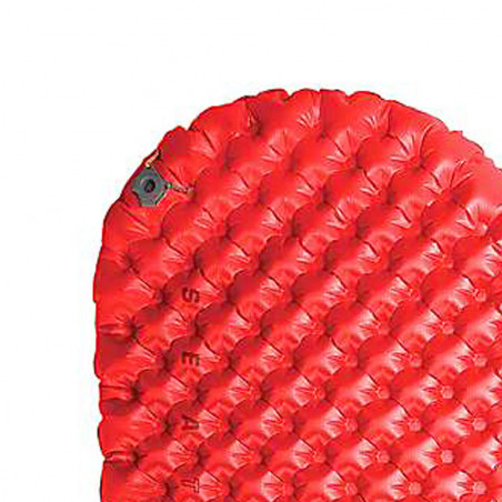Esterilla hinchable Sea to Summit COMFORT PLUS INSULATED REGULAR - rojo