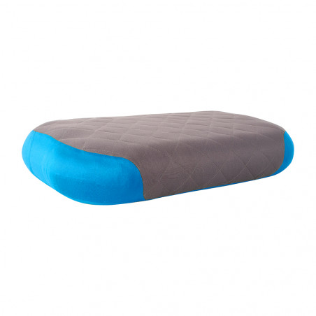 Almohada de viaje Sea to Summit AEROS PREMIUM DELUXE PILLOW - azul