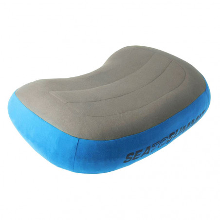 Almohada de viaje Sea to Summit AEROS PREMIUM LARGE PILLOW - azul