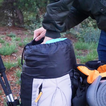Mochila de trekking Hosa MONTBLANC 65 - naranja y gris