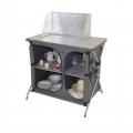 Muebles cocina con paravientos