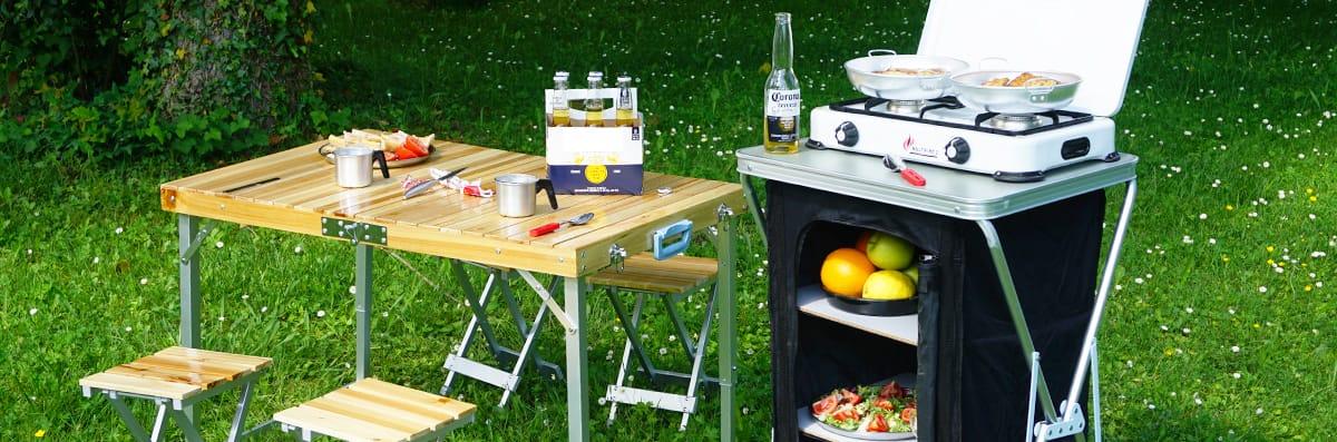Muebles Cocina para Camping - Comprar y Oferta - Camping Sport